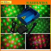 Wholesale Led Strobe Stars - Stage Light XL077 Laser Star Stage DJ Lighting LED Stage Light Free Shipping