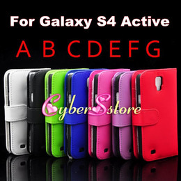 Wholesale Galaxy S4 Luxury - Luxury Photo Frame Photoframe Wallet Flip PU leather Case Cover With Credit Card Slot Slots Pouch For Samsung Galaxy S4 Active I9295