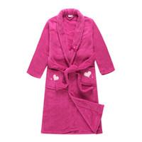 toalhas de banho bordadas crianças venda por atacado-Menina de banho grooming Pjs Pijama Pijamas Sleepwear PJ crianças vestes toalhas 10 pçs / lote novo