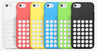 Wholesale Iphone 5c Dots - Plastic Case AAAA 1:1 Best Quality Soft Cover for iPhone 5C 5c case with small dot
