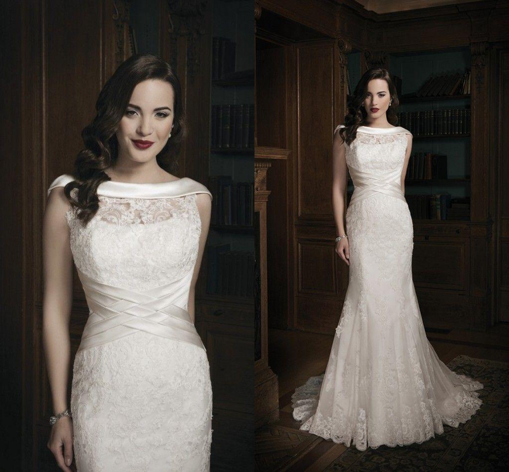 Beautiful Mermaid Wedding Gowns: 2016 Beautiful Mermaid Wedding Gowns Bridal Dresses Gown