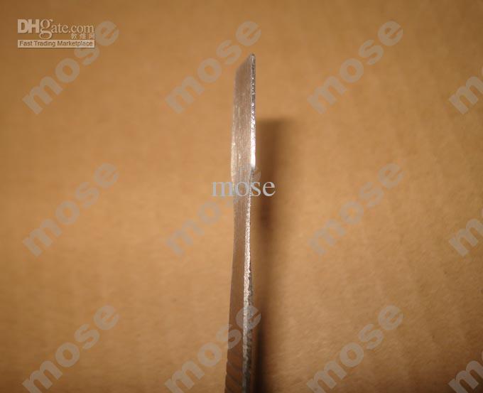 12cm herramientas magnéticas de metal Palanca herramienta de la palanca de cabeza plana de la hoja de la pala conseguir la apertura de Shell para el teléfono móvil Tablet PC de reparación /