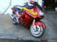 93 ninja verkleidungskit großhandel-Maßgeschneidertes Verkleidungsset für KAWASAKI ZZR1100 93 94 97 98 99 00 01 ZX11 1993 2001 ZZR1100D hot red Verkleidungskarosserie + 7gifts ZU45