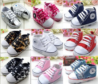 Wholesale Babies Wear Wholesales China - 10%off!9 styles!Christmas Sale baby toddler shoes,pretty star baby shoes sale,11 12 13CM newborn china shoes,baby wear! 9pairs 18pcs.ZY