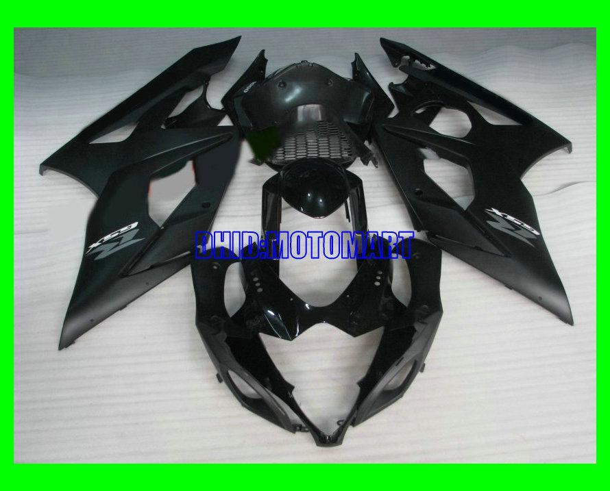Aftermarket Verkleidungskit für SUZUKI GSXR1000 2005 2006 GSX-R1000 GSX R1000 GSXR 1000 K5 05 06 mattegloss schwarz ABS Verkleidungsset + 7gifts Sd57