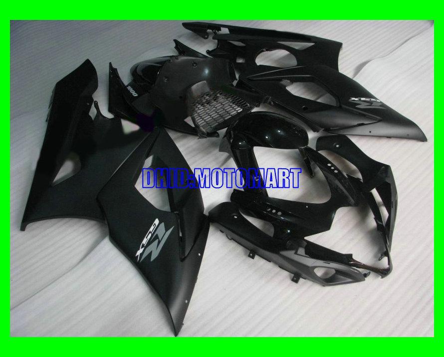 Kit de carenado para el mercado de accesorios para SUZUKI GSXR1000 2005 2006 GSX-R1000 GSX R1000 GSXR 1000 K5 05 de carenados de ABS en negro mate de 7 difts