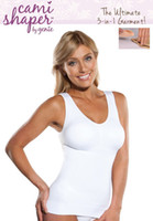 Wholesale genie pads - 2014 hot sale Cami shaper by Genie with Removable Pads Look Thinner Instantly the Ultimate 3 in 1 Garment cami shaper free shipping