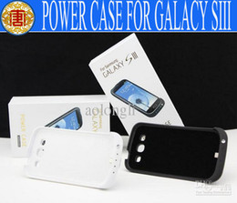 Wholesale External Power Charger S3 - Wholesale - 3200mAh External Battery Power Backup Battery Charger Case with Stand Holder - Galaxy S3 SIII i9300
