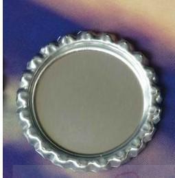 Både sida färgade metall ölflaskor kepsar för DIY smycken