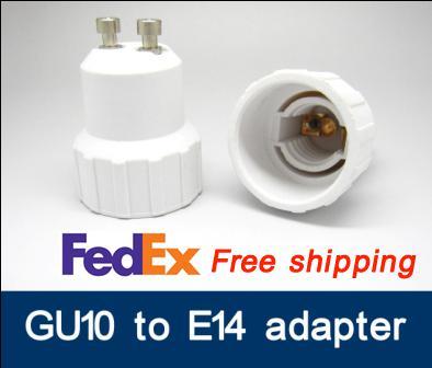 GU10-E14 GU10 to SES adapter LED bulb adapter light Adaptr GU10 to E14 adaptor lamp holder adapter E14 to GU10 converter Fedex free ship