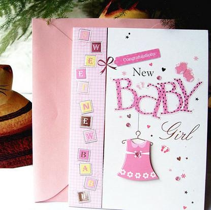 12 Patterns Mixed Baby Birthday Card High Quality New Born Baby