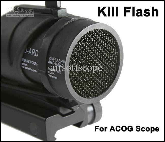 Töte Flash Schutzhülle für ACOG Scope Black