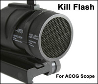 Kill Flash & Protective Cover for ACOG Scope Black