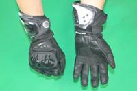 guantes amables al por mayor-2014 Nuevo llega Moto Racing Gloves GP-Pro guantes de moto guantes de carreras de cuero guantes de caballero moto guantes 3 clases de color tamaño M L XL