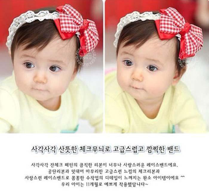 Fashion Baby Headbands Bowknot Flower For Girl Lace hairbands Hair Accessories Lace Hair Ornaments Kids Lace Headbands Christmas Gift