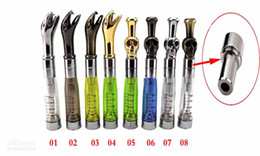 Wholesale Ego Ce5 Steel - CE4-510 Drip Tip Adaptor eGo Clearomizer Cartommizer Drip Tip Stainless Steel Metal Drip Tip Adapter Connector for CE4 CE5 Series Tank