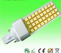 Wholesale G23 Base Led - Ultra Bright Led Plug light 9W E27 G23 G24 Base 900LM 9W SMD5050 LED Bulb LED Lighting 10pcs