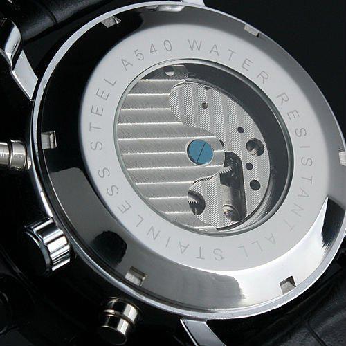 2021 Ny Jaragar Automatisk mekanisk Tourbillion Klassisk Datum Dag Svarta Läder Män Sport Militär Klocka