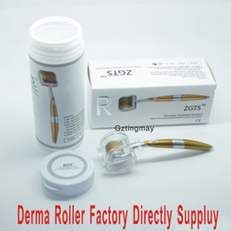 wholesale micro derma needle roller Australia - 192 Micro needle Derma Roller ZGTS Titanium Alloy Needle 100pcs mix sizes lot in gztingmay store