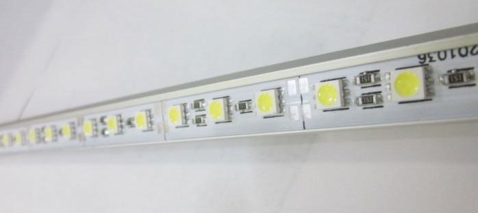 12 Voltios 1M 5050 SMD LED tira rígida enciende la lámpara 72leds duro artículo Light Bar +