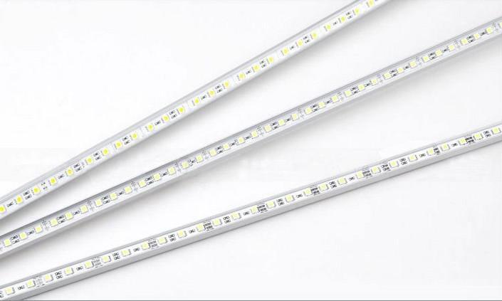 1m 72leds 5050 SMD LED tira rígida enciende la lámpara duro artículo Barra de Luz +