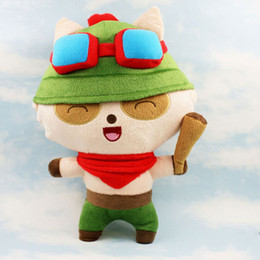 Wholesale Teemo Toys - League of Legends plush toys,LOL Teemo The Swift Scout plush dolls 27cm