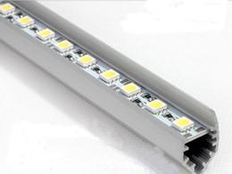Argentina 1m 5050 SMD LED Lámpara de luces de tira rígida 72 leds Artículo duro Barra de luces +