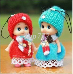 dreams plush 2018 - Christmas gift R30pcs Strange dream girl dolls confused marriage wedding gifts wholesale mobile phone's accessories plus
