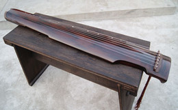 Exempt freight,Wonderful Chinese Exquisite 7 Strings Old GuQin on Sale