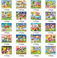 Wholesale Eva 3d Foam Stickers - Foam Art Kit Children Educational Toys EVA 3D DIY Sticker Puzzle 20 Style 60g Free Shipping
