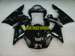 Kit carena moto per YAMAHA YZFR1 00 01 YZF R1 2000 2001 YZF1000 ABS nero lucido Set carenature + regali YB07