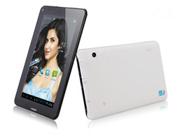 Wholesale A13 Inch Dual Camera - Wholesale - 7 inch Phone Call GSM 2G Android 4.0 Allwinner A13 1.5Ghz 512MB 4GB Dual Camera WIFI Blutooth