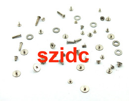 Wholesale Iphone 4s Full Screw Set - Original New Full Screw Set with O-ring For Apple iPhone 4S Parts Replacement Part Free CN HK SG Post