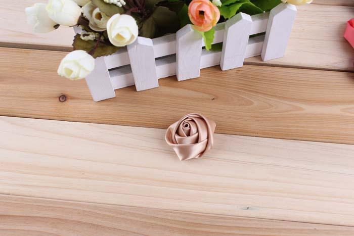 Rose Flowers For Baby Headbands Girls Rose Corsage Flower Hair Accessories Handmade Flower Flowers DIY Photography props ZL07
