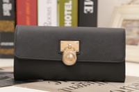 Wholesale Grass Wallets - Now genuine leather women michael wallet case For Apple 7 7 plus case black cases for iphone 5 6 6 plus mobile phone bags