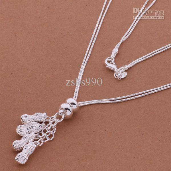 Top quality 925 silver pendant necklace fashion jewelry for women