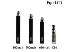 Wholesale Manufacturers Marketing - 2013 New arrival & manufacturer price e cigarette ego Voltage lcd battery hot sale in the USA market
