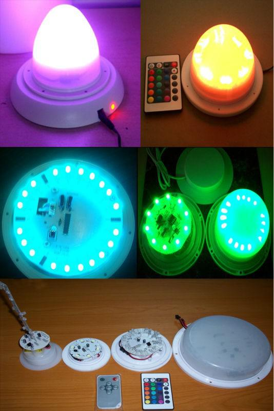 Bulblite Cordless Rechargeable Rgb Led Lighting System For