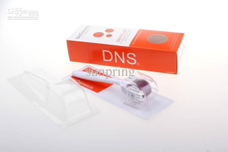 Derma Roller DNS 540 Micro Aghi, Sistema Dermaroller, Sistema di infermeria terapia a rullo Microneedle Skin Care by DHL 250pz
