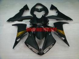 $enCountryForm.capitalKeyWord Australia - Injection mold Fairing kit for YAMAHA YZFR1 04 05 06 YZF R1 2004 2005 2006 YZF1000 ABS matte black Fairings set+gifts YD27