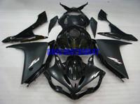kit de yamaha negro al por mayor-Kit de carenado de la tapa del tanque completo para YAMAHA YZFR1 07 08 YZF R1 2007 2008 YZF1000 Gloss Black black Fairings set + regalos YE08