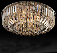 K9 crystal ceiling light modern simple fashion 15 light sour...