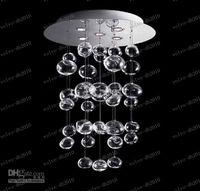 Wholesale Murano Glass Pendant Lamps - LLFA2414 Dia 50cm*H60 80 100 120 180 200cm Muranodue Ether Murano Due Bubble Glass Chandelier Ceiling Lighting Pendant Lamp Droplight Lamps