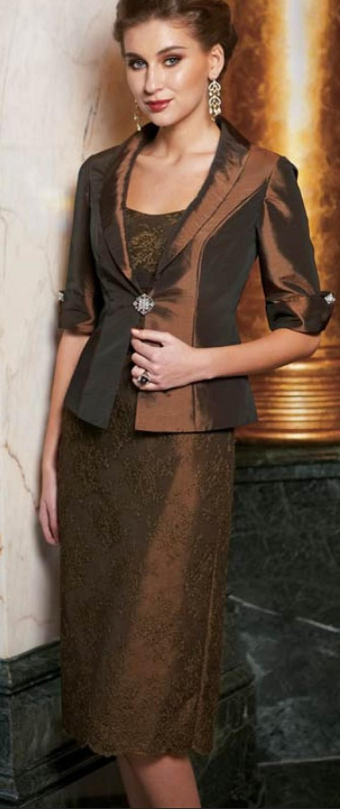 2019 New Mothers Dresses Lace Appliques Half Long Sleeves Sheath Evening Dress Mother Of The Bride Dresses With Jacket Women Formal Dresses