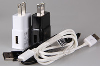 250pcs US EU Plug Wall Charger Adapter For Samsung Galaxy S3...
