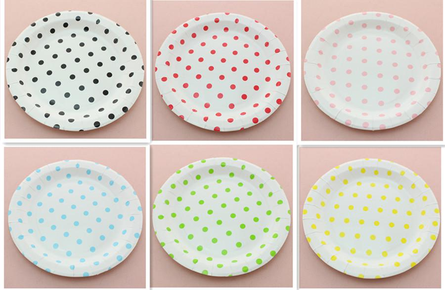 ... Eco-friendly RED PINK BLACK BLUE GREEN YELLOW 9\  Round Chevron Paper Plates For  sc 1 st  DHgate.com & FREE SHIPPING 1080pcs Eco-friendly RED PINK BLACK BLUE GREEN YELLOW ...