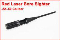 Wholesale Sight Scope Laser Bore Sighter - Tactical Red Laser Bore sighter Kit.22-.50 Caliber Rifle Scope Bore Sight