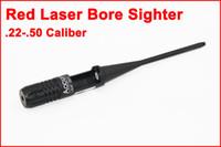 tüfek takımları toptan satış-Taktik Kırmızı Lazer Çap sighter Kit.22-.50 Kalibre Tüfek Kapsam Delik Sight
