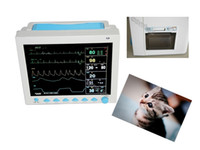 Wholesale patient monitor nibp for sale - Group buy NEW veterinary inch ICU patient Monitor CMS8000 with Free Printer parameters ECG NIBP SPO2 RESP TEMP PR Option Etco2