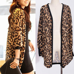 015df0d982 Western Girl Women Leopard Batwing Sleeve Ponchos Blouse for Women Lady girls  Shirts Clothing 206 Coupon